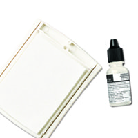 Whisper White Uninked Craft 邮票' Pad & Refill