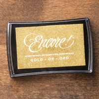 Metallic Gold Encore Pad