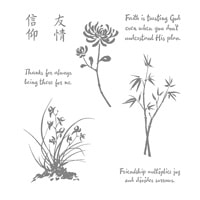 Artistically Asian Clear-Mount Stamp Set