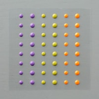 Halloween Night Enamel Dots