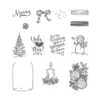 Jar Of Cheer Photopolymer Stamp Set
