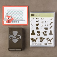 Foxy Friends Photopolymer Bundle