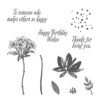 Avant Garden Photopolymer Stamp Set