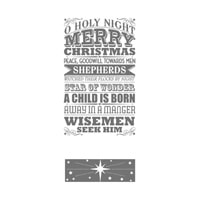 O Holy Night Clear-Mount Stamp Set