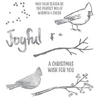 Joyful Season Photopolymer Stamp Set