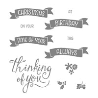 Time Of Year Photopolymer Stamp Set