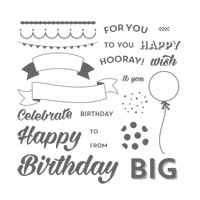 Birthday Bright Photopolymer Stamp Set