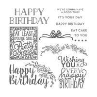 Big On Birthdays Photopolymer Stamp Set