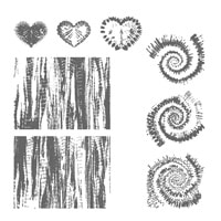 Tie Dyed Photopolymer Stamp Set