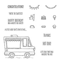 Tasty Trucks Photopolymer Stamp Set