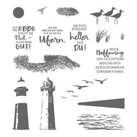 Durch Die Gezeiten Photopolymer Stamp Set