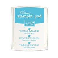 Tempting Turquoise Classic Stampin' Pad*