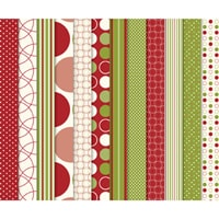 Jolly Holiday Designer Series Paper - Digital Download