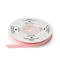 "Blushing Bride 1/4"" Stitched Grosgrain Ribbon"