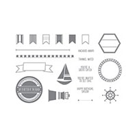 Settin' Sail Photopolymer Stamp Set