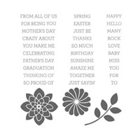 Crazy About You Photopolymer Stamp Set