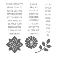 Tellement Toi Photopolymer Stamp Set (French)