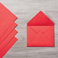 Real Red Envelope Paper
