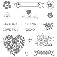Bloomin' Love Photopolymer Stamp Set