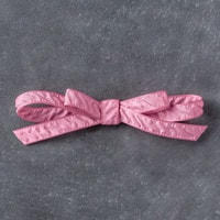 "Sweet Sugarplum 3/8"" (1 Cm) Ruched Ribbon"