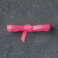 "Melon Mambo 1/8"" (3.2 Mm) Stitched Ribbon"