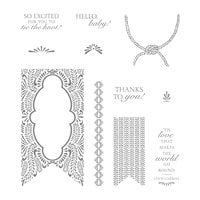 Beautiful Banners Clear-Mount Stamp Set