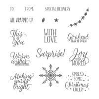 Tin Of Tags Photopolymer Stamp Set