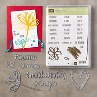 Souhaits Et Vœux Clear-Mount Bundle (French)