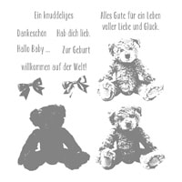 Unentbärliche Grüße Photopolymer Stamp Set (German)
