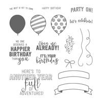 Balloon Adventures Photopolymer Stamp Set