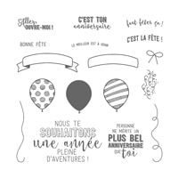 Ballons À L'aventure Photopolymer Stamp Set