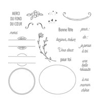 Attention Spéciale Photopolymer Stamp Set