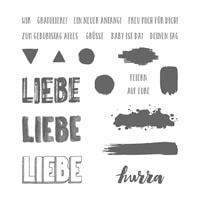 Feierstimmung Photopolymer Stamp Set