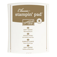Soft Suede Classic Stampin' Pad*