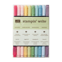 Stampin Write Markers - Subtles Collection