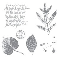 French Foliage - Clear-Mount Stamp