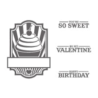 Sweet Cake - Clear-Mount Stamp