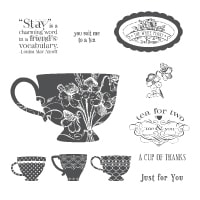 Tea Shoppe - Clear-Mount Stamp