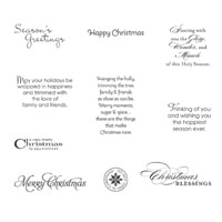 More Merry Messages Clear-Mount Stamp Set