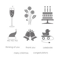 Embellished Events Clear Stamp Set