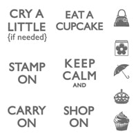 Carry On Clear-Mount Stamp Set