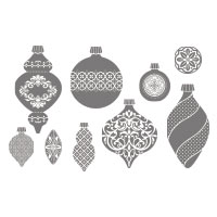 Ornament Keepsakes Clear-Mount Stamp Set