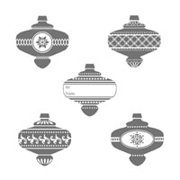 Christmas Collectibles Clear-Mount Stamp Set