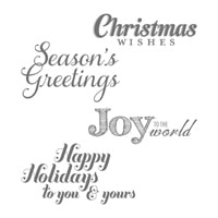 Joy To The World Clear-Mount Stamp Set