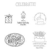 Best Of Birthdays Clear-Mount Stamp Set
