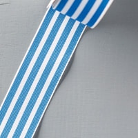"Pacific Point 1-1/4"" Striped Grosgrain Ribbon"