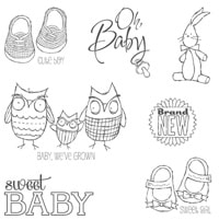 Baby, We've Grown Clear Stamp Set