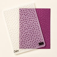 Decorative Dots Textured Impressions Embossing Folder