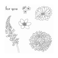 Forever Florals Clear-Mount Stamp Set