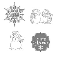 Best Of Snow Clear-Mount Stamp Set